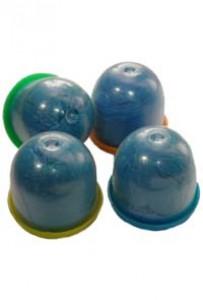 Бахилы в капсулах 28 мм (обычные, синие)